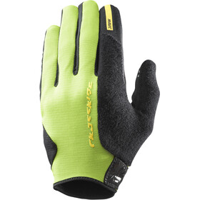 Mavic Xride Protect Gloves Men Lime Green